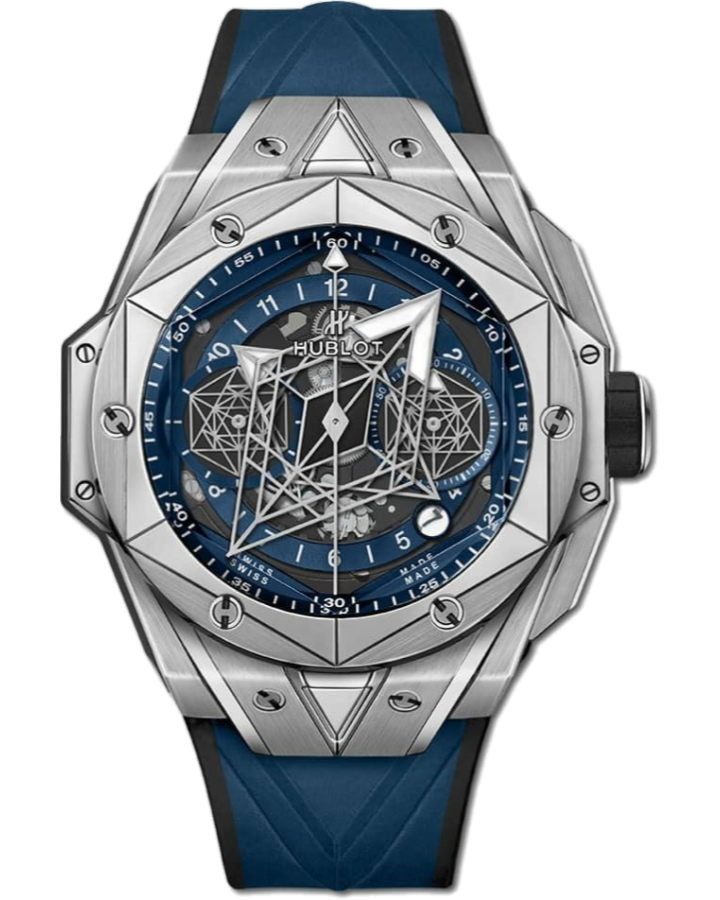 Часы Hublot Big Bang Unico Sang Bleu II Titanium 418.NX.5107.RX.MXM20