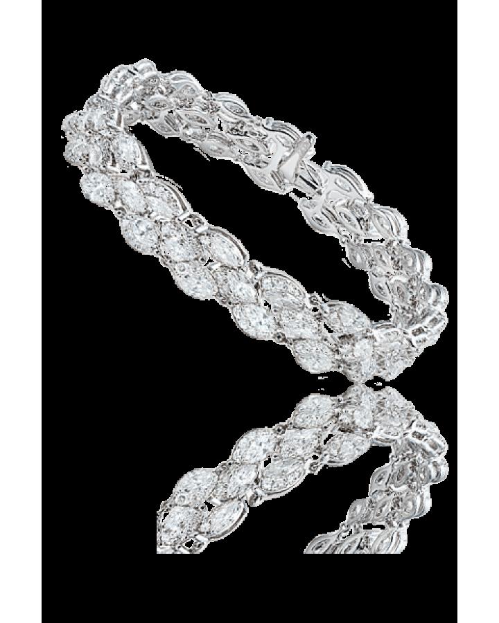 Браслет Damiani  с бриллиантами EMOZIONI