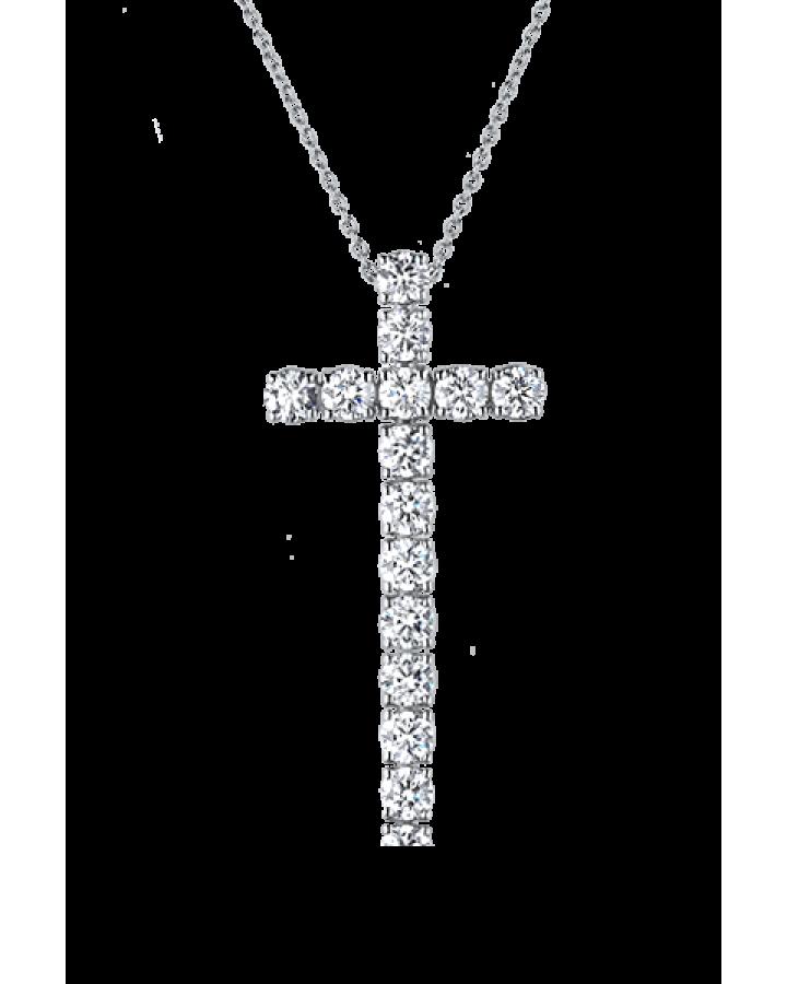Крест Crivelli  С БРИЛЛИАНТАМИ 2 60 КАРАТА