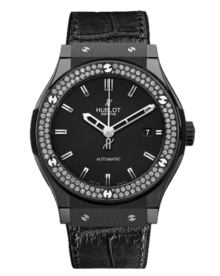 Часы Hublot Classic Fusion Black Magic Diamonds