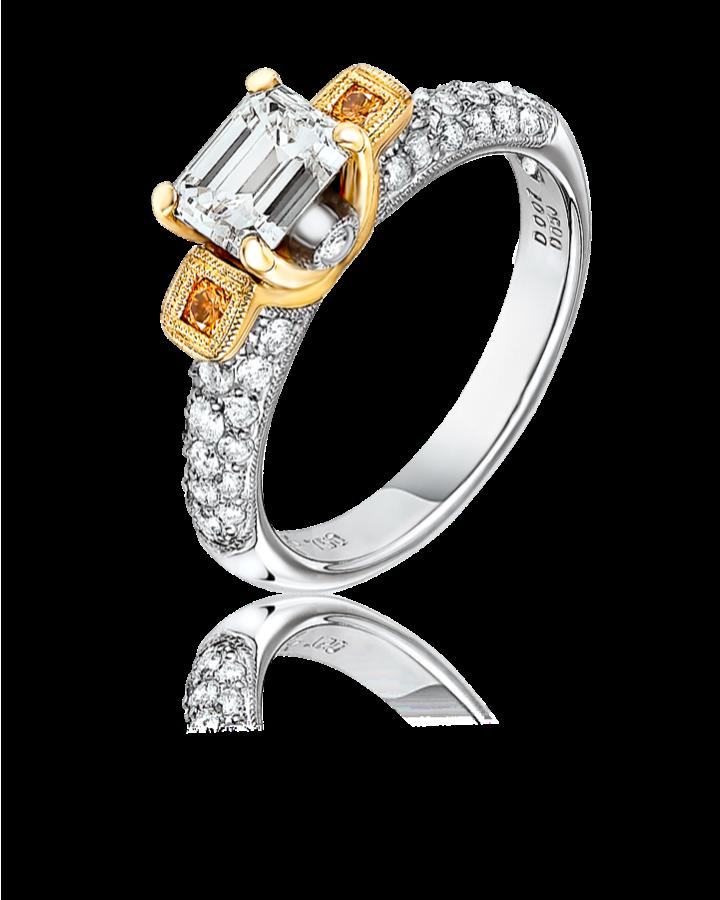 Кольцо с бриллиантом ROSE JEWELLERY 1 05ct