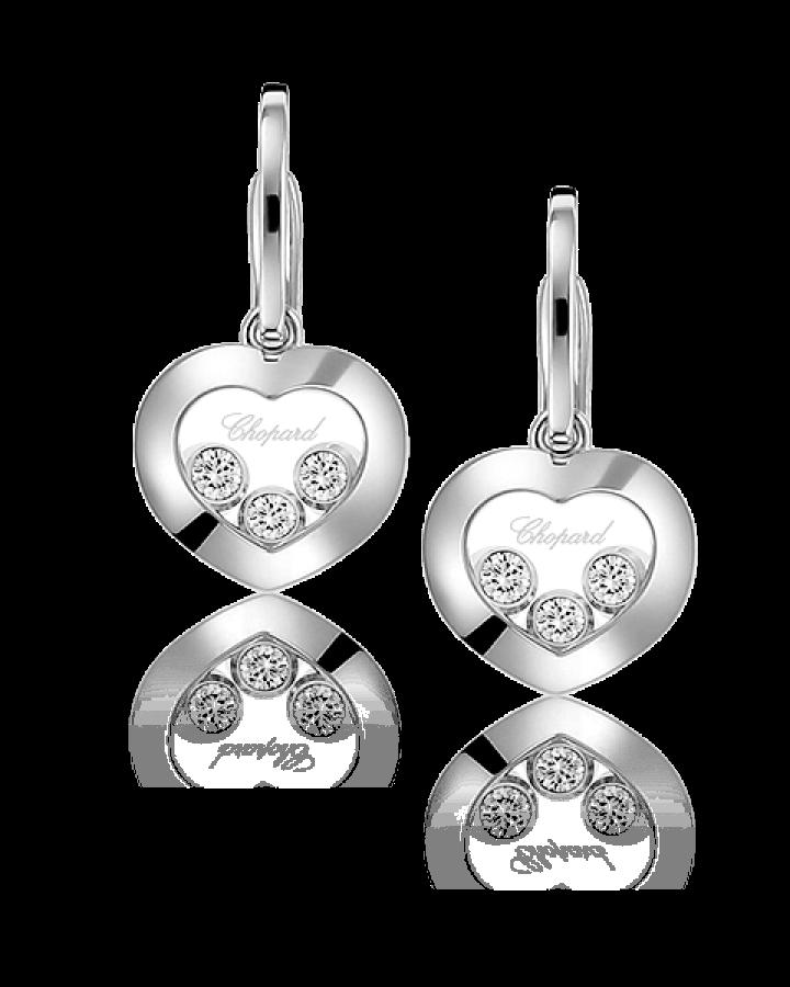 Серьги Chopard  HAPPY DIAMONDS ICONS 839203-1003
