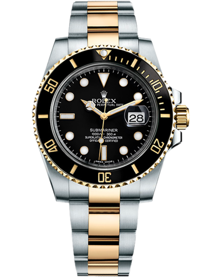 Часы Rolex Submariner Date 40mm Steel and Yellow Gold Ceramic 116613LN