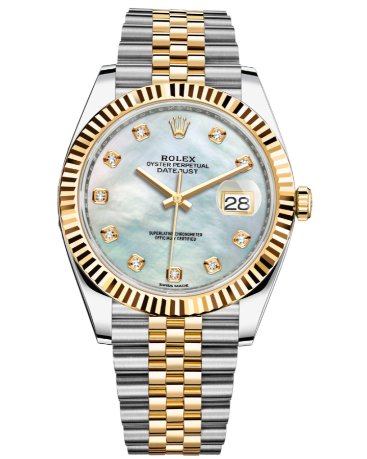 Часы Rolex Datejust 41mm Steel and Yellow Gold 126333-0018