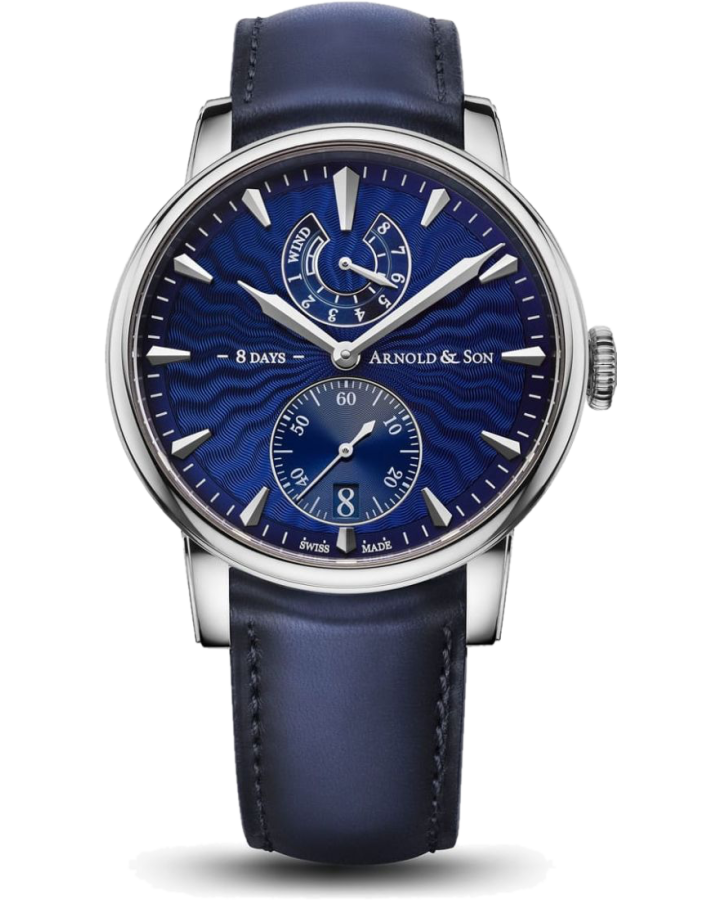 Часы Arnold & Son Royal Collection Eight Day Royal Navy 1EDAS U01A D136A