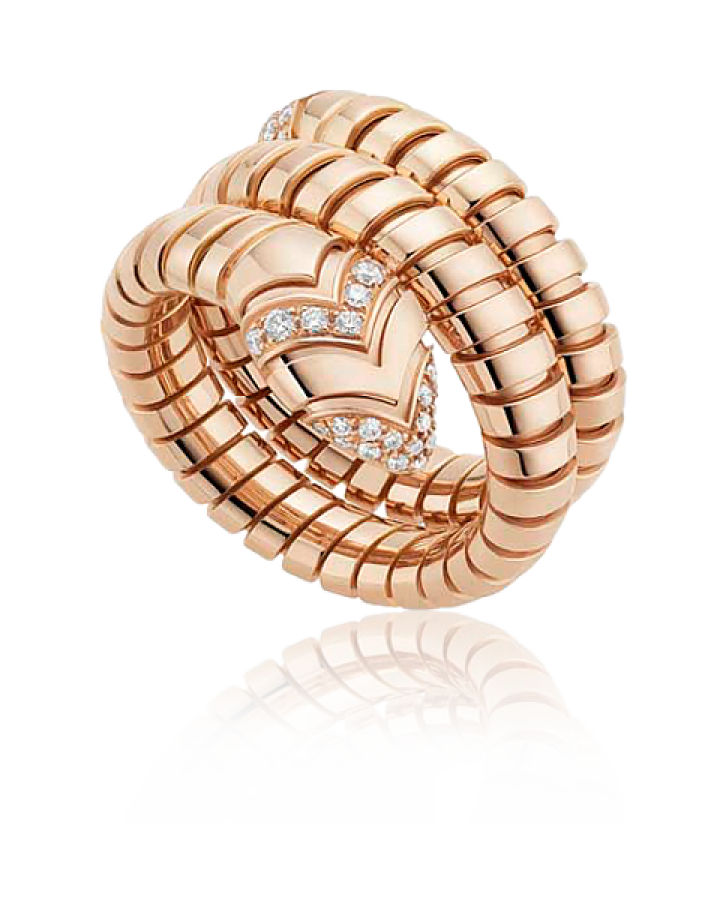 Кольцо BVLGARI Serpenti Tubogas AN856571