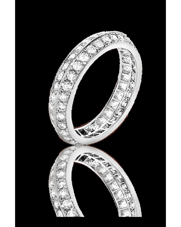 Кольцо Van Cleef & Arpels Обручальное Couture