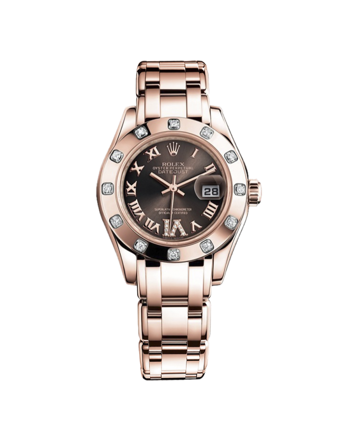 Часы Rolex Pearlmaster Gold 29 mm 80315-0013