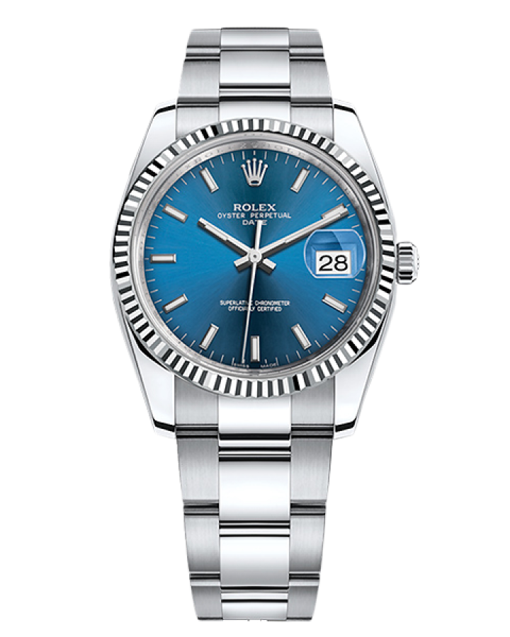 Часы Rolex PERPETUAL 34 MM OYSTERSTEEL AND WHITE GOLD