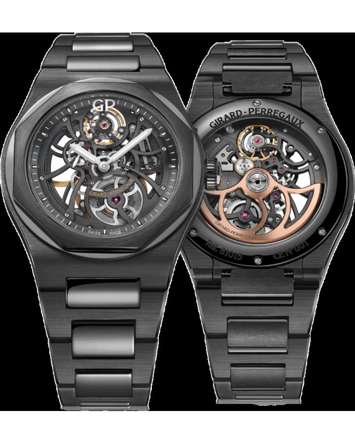 Часы Girard Perregaux GIRARD PERREGAUX LAUREATO SKELETON CERAMIC
