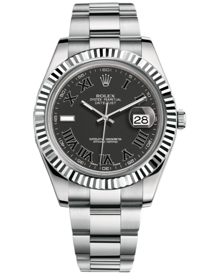Часы Rolex Datejust II 41mm Steel and White Gold 116334 0002