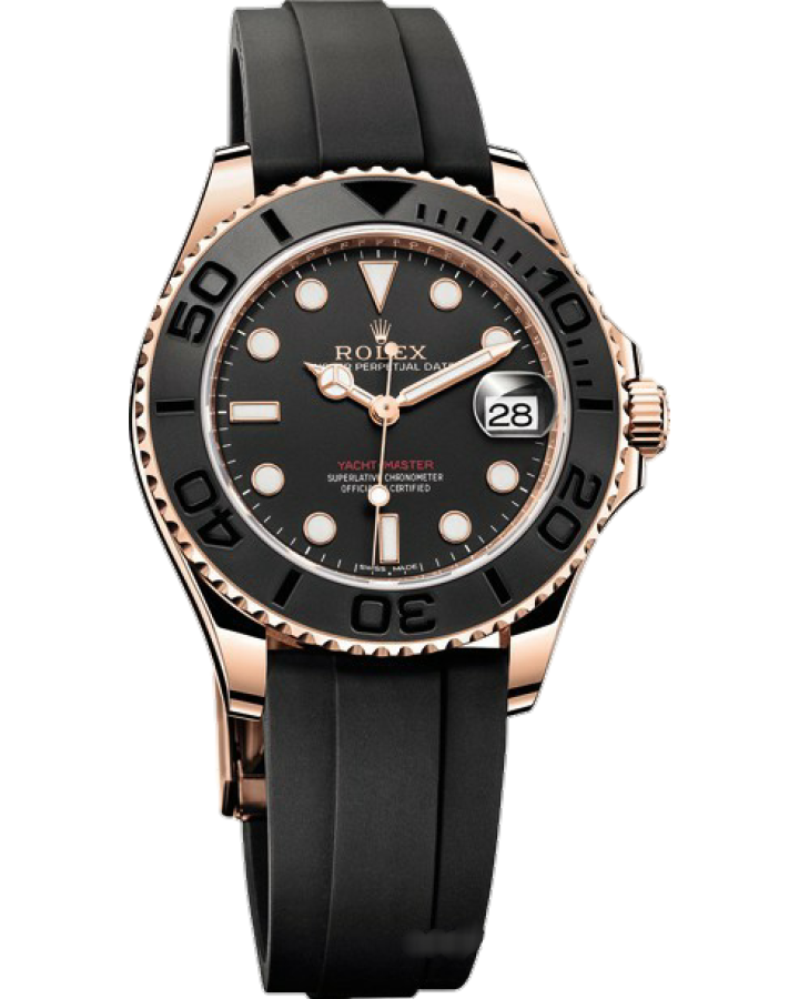 Часы Rolex Yacht Master 37mm Everose Gold 268655