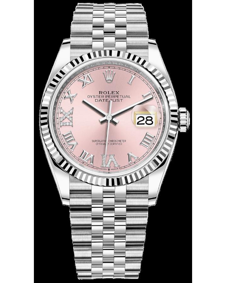 Часы Rolex Datejust 36mm Steel and White Gold126234 0031