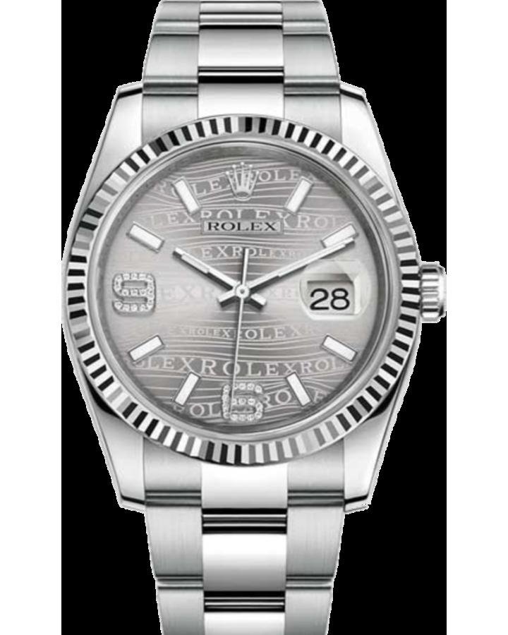 Часы Rolex Datejust 36mm Steel and White Gold116234-0153