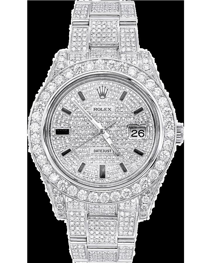 Часы Rolex Datejust 41mm Diamonds ТЮНИНГ 126300