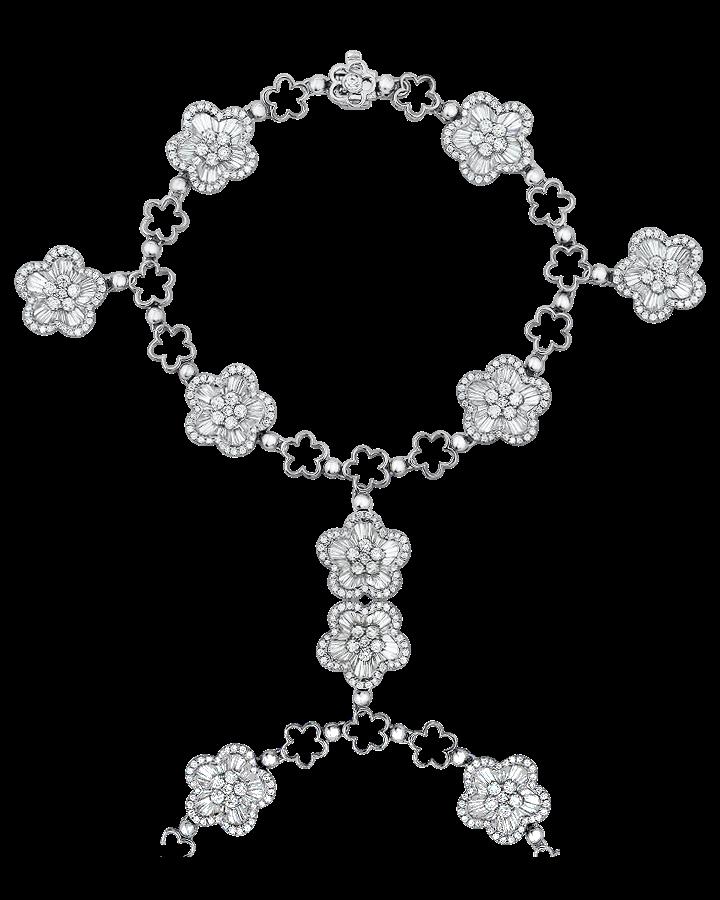 Браслет Shreiner  с бриллиантами.