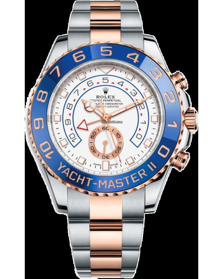 Часы Rolex YACHT MASTER II 44 MM STEEL AND EVEROSE GOLD