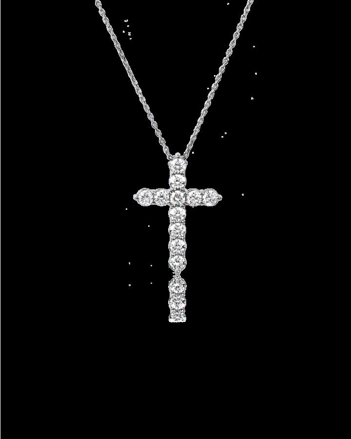 Крест RALFDIAMONDS с бриллиантами small 1 12 CT