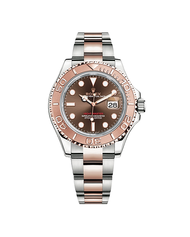 Часы Rolex YACHT MASTER 40 MM OYSTERSTEEL AND EVEROSE GOLD