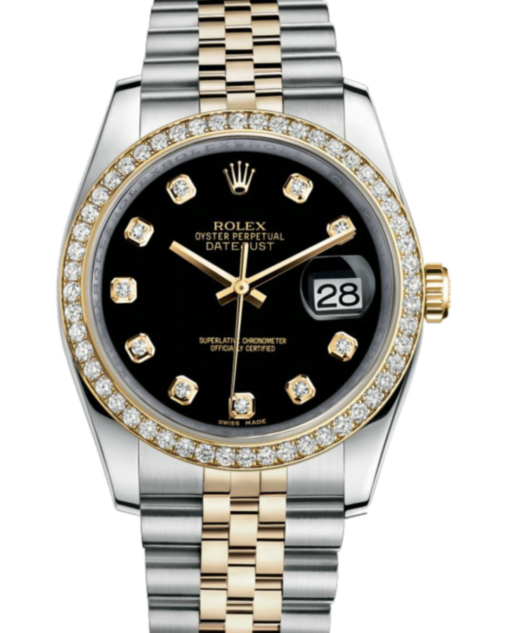 Часы Rolex Datejust 36mm Steel and Yellow Gold 116243