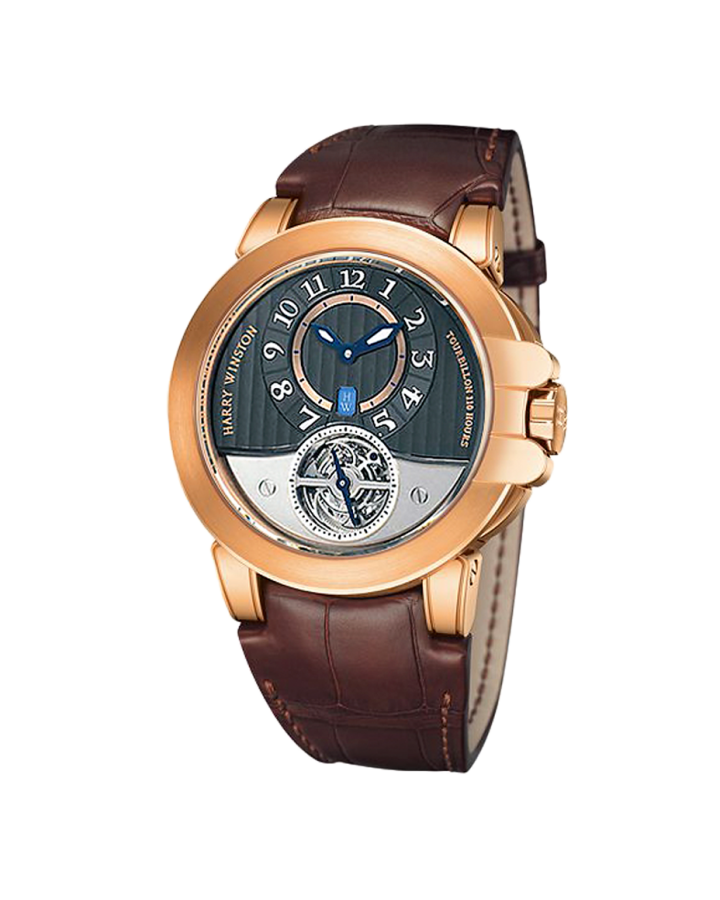 Часы Harry Winston Ocean Tourbillon Project Z3 400 MAT44RL AW