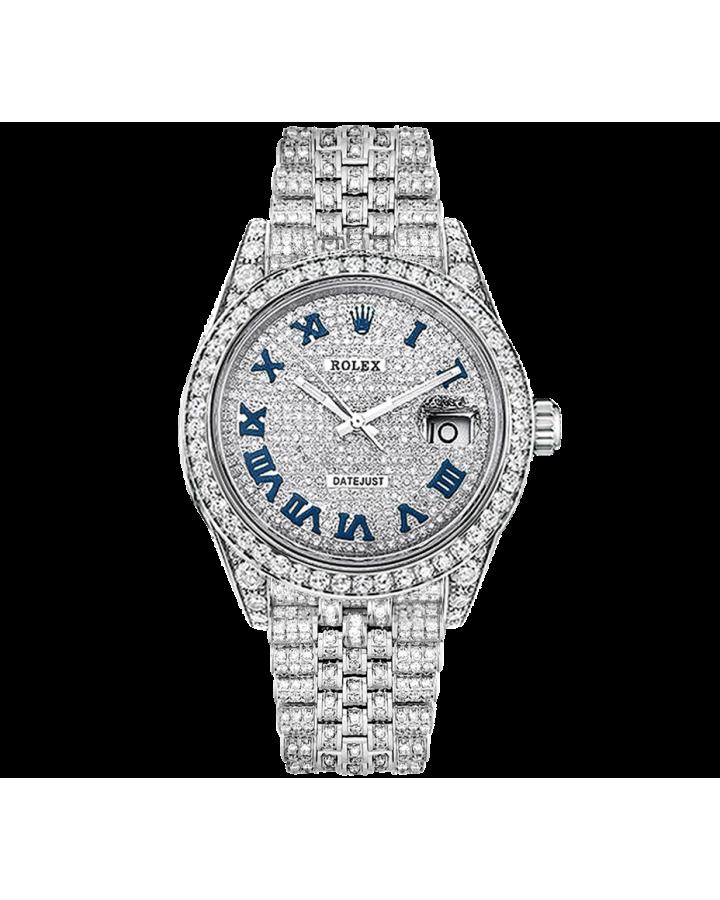 Часы Rolex DATEJUST DIAMONDS 41мм ТЮНИНГ.