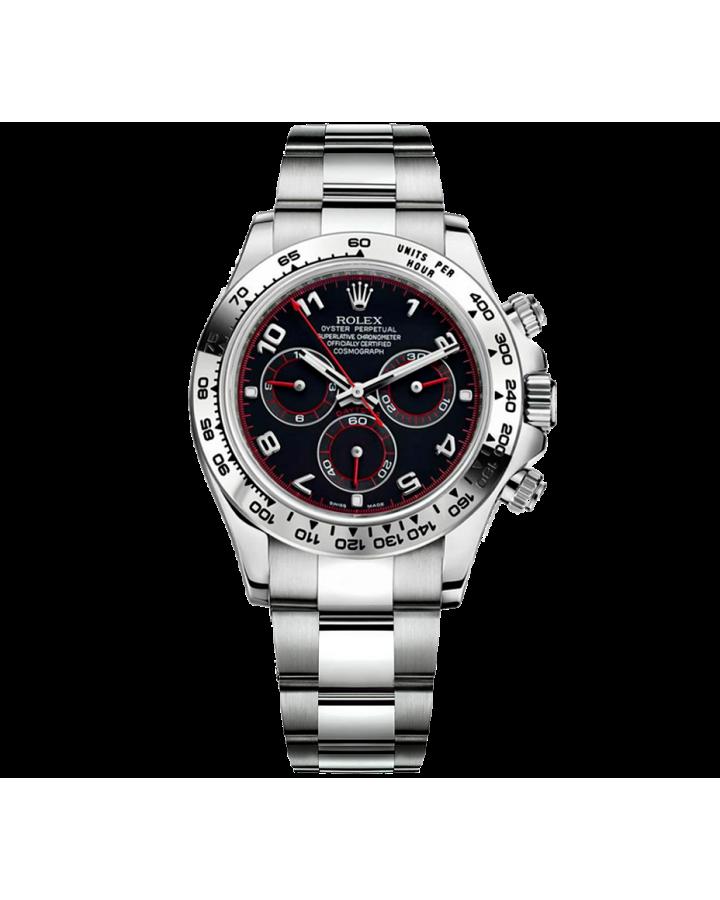 Часы Rolex Cosmograph Daytona 40mm White Gold116509 Black