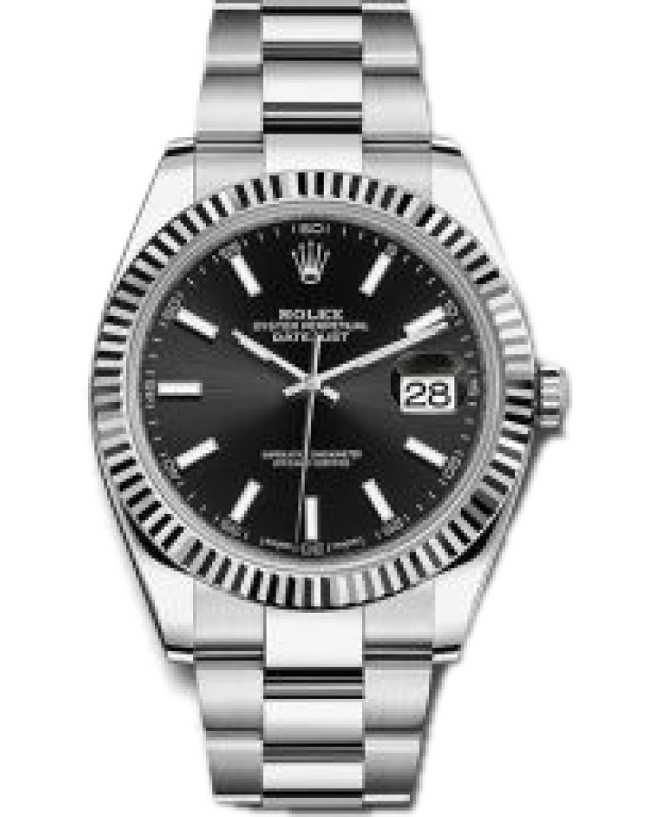 Часы Rolex Datejust 41mm Steel and White Gold126334