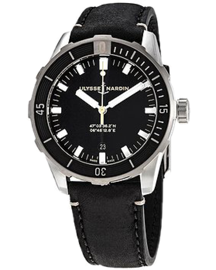 Часы Ulysse Nardin  Diver Automatic Black 8163-175/92