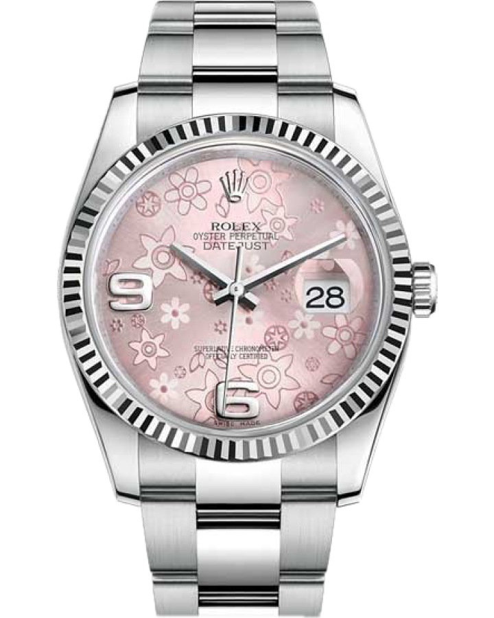 Часы Rolex Datejust 36mm Steel and White Gold 116234 0144