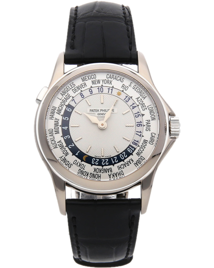 Часы Patek Philippe World Time White Gold Discontinued 5110G 001