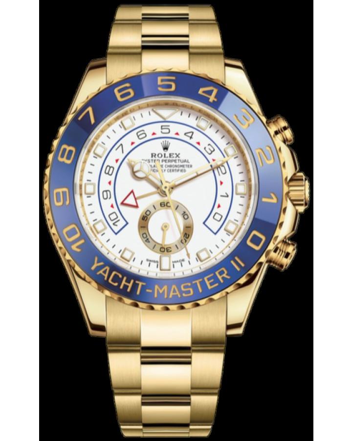 Часы Rolex YACHT MASTER II 44MM YELLOW GOLD 116688