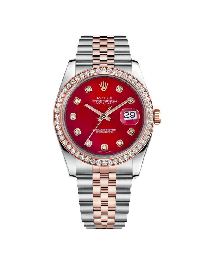 Часы Rolex OYSTER DATEJUST 36MM STEEL AND EVEROSE GOLD