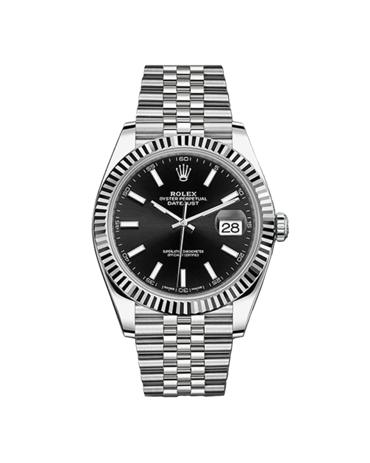 Часы Rolex DATEJUST 41MM STEEL AND WHITE GOLD