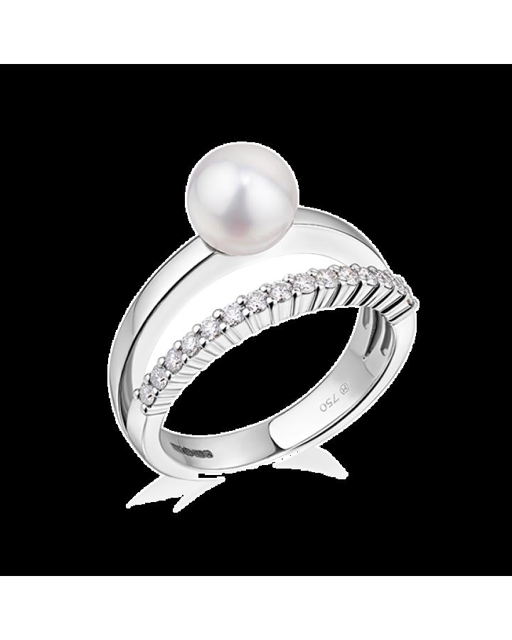 Кольцо Mikimoto Classic  PRL 10233 D W