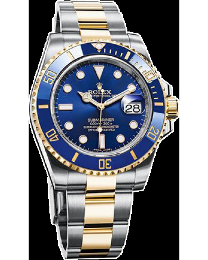 Часы Rolex  Submariner Steel and Yellow Gold Ceramic 116613LB