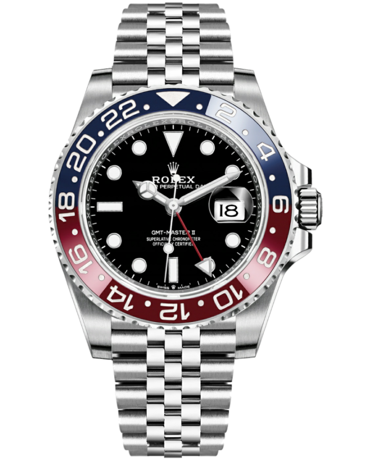Часы Rolex GMT Master II 40mm Steel 126710 BLRO Pepsi