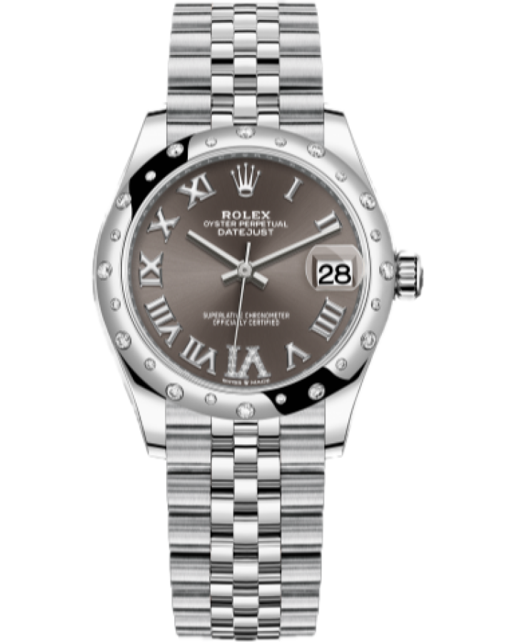 Часы Rolex Datejust 31mm Steel and White Gold 278344RBR-0024
