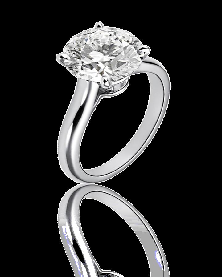 Кольцо с бриллиантом Cartier  2 29 CT E VVS2 3 EX
