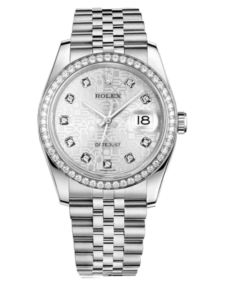 Часы Rolex Datejust 36 Stell and White Gold ТЮНИНГ