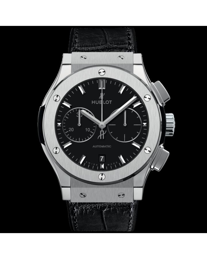 Часы Hublot CLASSIC FUSION CHRONOGRAPH TITANIUM 45 мм