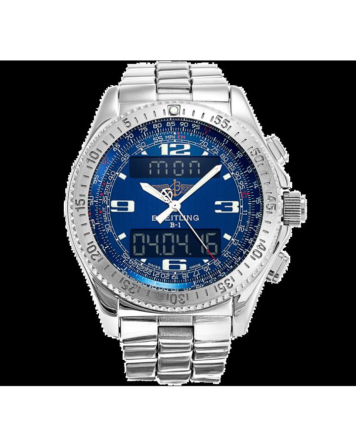 Часы Breitling B-1 UTC Stainless Steel
