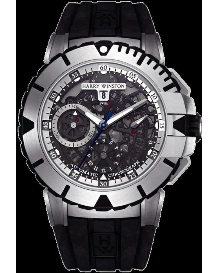 Часы Harry Winston Ocean Sport ChronographOCSACH44ZZ002