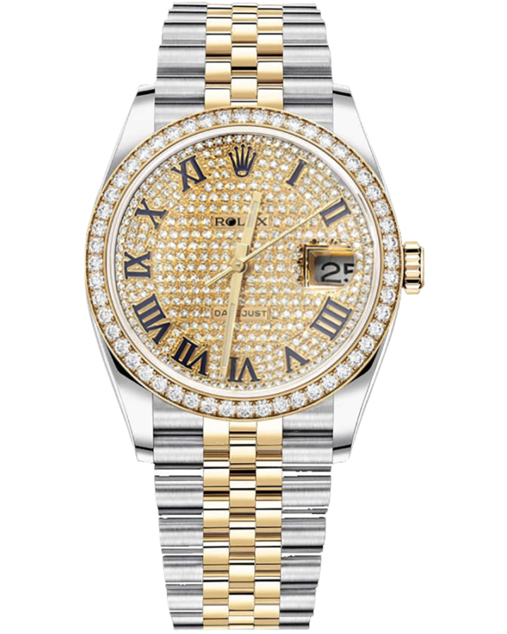 Часы Rolex Datejust 36 mm Steel and 18-к Yellow Gold 116233