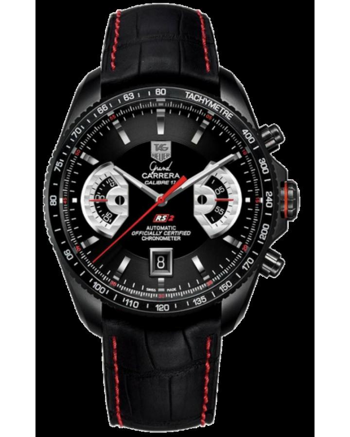 Часы TAG Heuer Grand Carrera Calibre 17 RS2 Automatic Chronograph 43 mmCAV518B.FC6237
