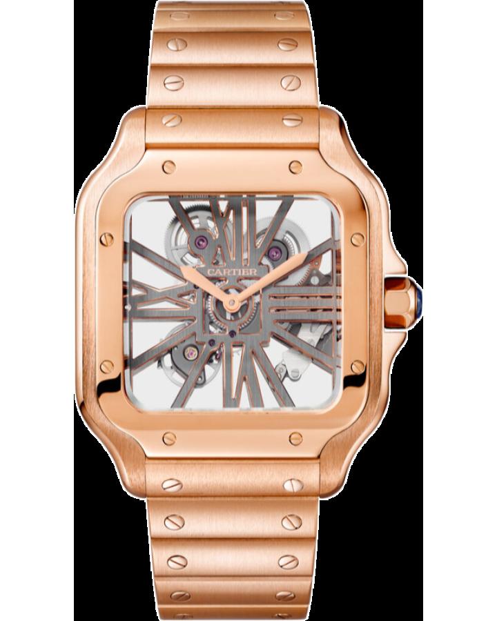 Часы Cartier SANTOS DE WHSA0016
