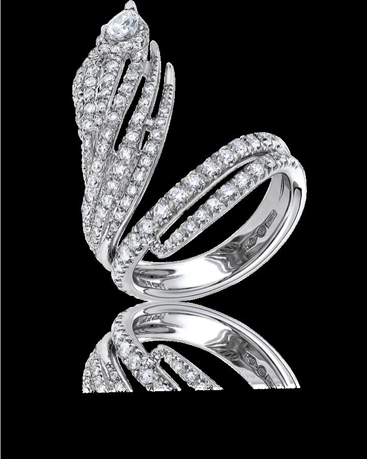 Кольцо Damiani  с бриллиантами