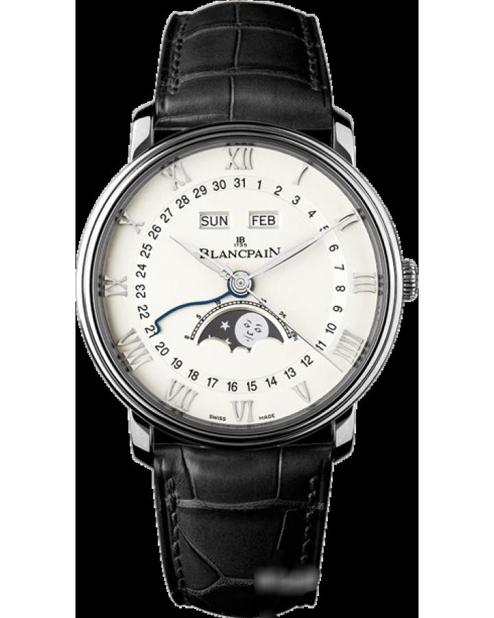 Часы Blancpain Villeret Moon Phase Complete Calendar 40mm6654-1127-55B