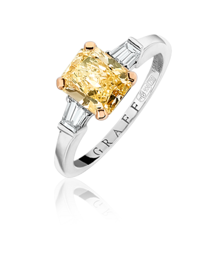 Кольцо с бриллиантом Graff  1 53ct