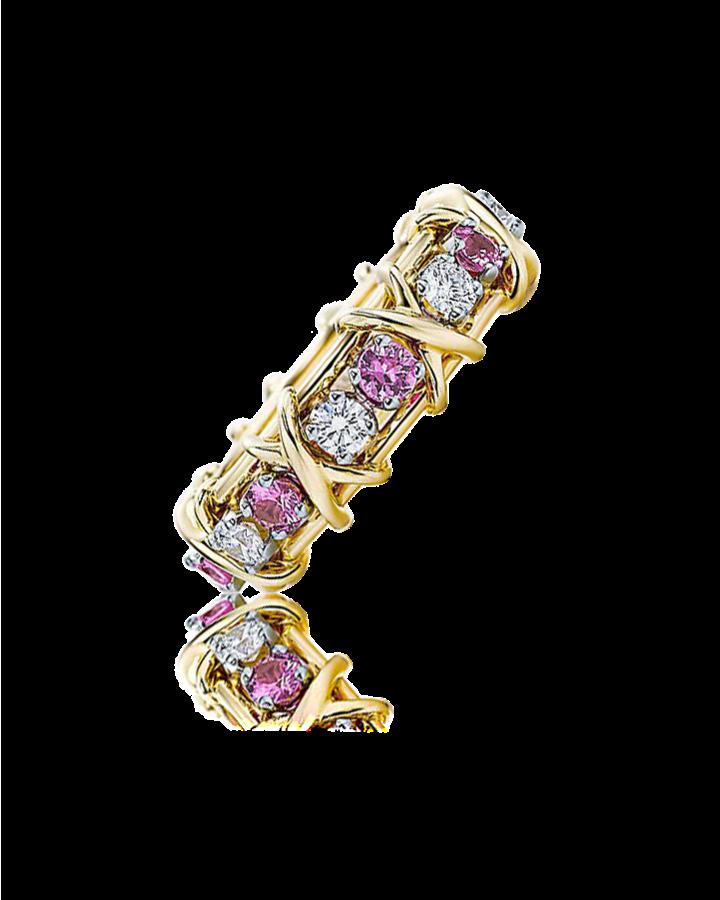 Кольцо Tiffany&Co. SCHLUMBERGER Sixteen Stone